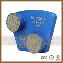Алмазный этаж шлифовальные бетона плиты (SYYH-01)