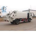 Camion à ordures compact avec châssis de camion léger