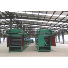 Particulate silicon carbide dryer equipment