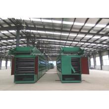 Equipamento para secar partículas de carboneto de silício
