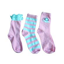 Little Girl Socks with Lace Bow Good Looking Super Nice Quality Hosiery
