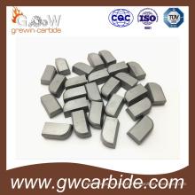 Pontas soldadas do carboneto de tungstênio Yg6