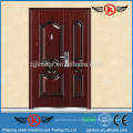 JK-S9220T Porta dupla exterior / porta de segurança e segurança de aço