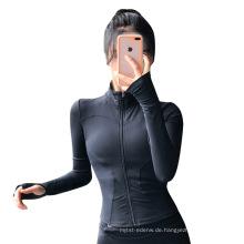 Schnelltrocknende atmungsaktive Sportjacke für Frauen