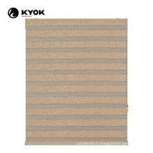 KYOK interior plastic custom printed bamboo blinds
