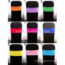 spandex chair sashes for weddings,Lycra/Spandex chair cover with sash for wedding and banquet