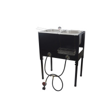 High pressure outdoor deep fryer with basket