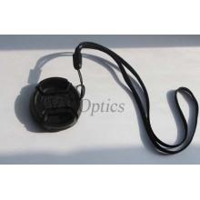Tampa da lente para câmera de vídeo e câmera