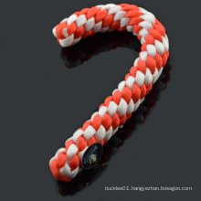 candy cane ornament paracord for christmas