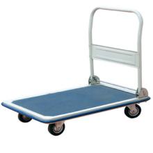 Carretilla de plataforma de material acero con carro de empuje de mano de calidad alta