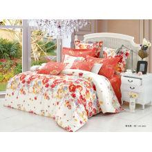 100% algodão 40s 133 * 72 / reativo impresso / luxo comforter conjunto
