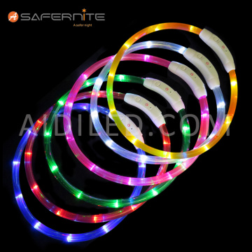 Christmas Light Up Led Collar Accessories For Dogs