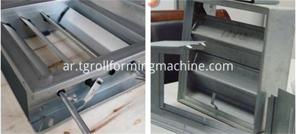 Fireproof Doorframe Roll Forming Machine