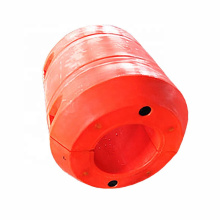 Deers polythene combined pipeline pipe floats for offshore dredging