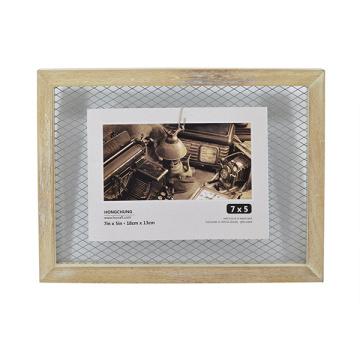 Frame da arte com gaze do ferro para a decoração Home