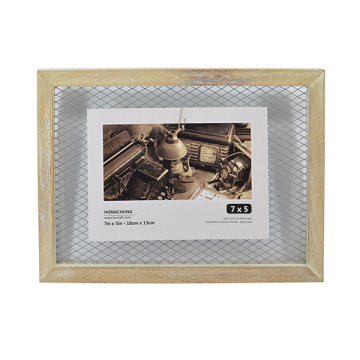 Art Frame with Iron Gauze for Home Decoration