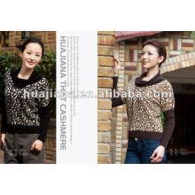 suéter de cachemira de invierno de la moda de impresión de moda