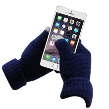 Glove Factory Touchscreen Bunte Strickhandschuhe