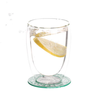 Double Wall Heat Resistant Glass Cups