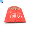 Food Stand Up Zipper Pouch para Rice Crackers