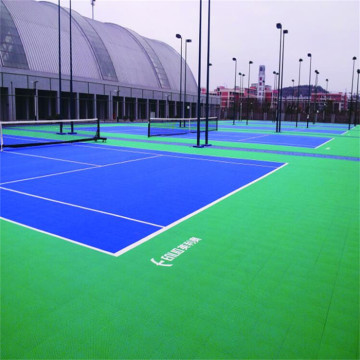 Enlio Outdoor Tennis Court Tile Sports Flooring