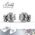 Destiny Jewellery Crystals From Swarovski Flower Earrings
