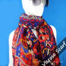 Nouvelle écharpe longue en laine design