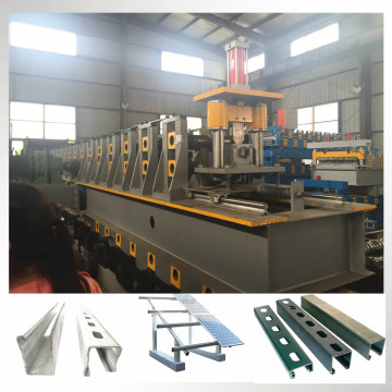 solar panel support roll forming machine
