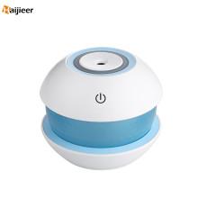 Humidificateur rond d'USB de 150ml avec la lumière menée par nuit