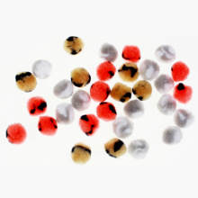 3cm polypropylene pompom assortment
