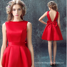 High Quality Backless with Bow Women Dress Wholesale Women Party Dress