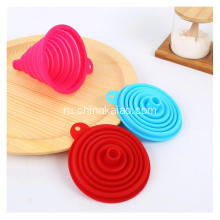 Food Grade Silicone Tool New Soft Water Oil Silicone Funnel