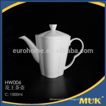 2016 modern restaurant excellent quality bone china ceramic teapot