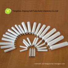 Tubo de aluminio plano para cosméticos