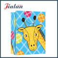 Cute Cartoon Animal Design Logo Printed Retail Paper Gift Bag