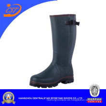 Botas de caucho de Zhejiang con cremallera (2207NZ)