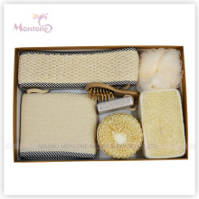 Luxury 6PCS dans un ensemble de douche de Giftbox