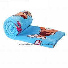 Air Conditioning Cartoon Coral Velvet Blanket