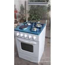 Gama de cocina de gas, horno de gas independiente, estufa de gas libre