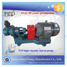 NYP series high viscosity internal gear inner loop viscous pumps