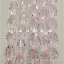 Peridot en perles de cristal en vrac