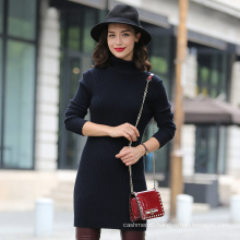 Inner Mongolia Ordos Raw Cashmere, Women′s 100% Cashmere Long Pullover Sweater