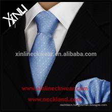 Perfect Knot 100% Handmade Jacquard Woven Wholesale Silk Ties And Handkerchief