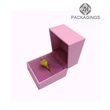 Luxury+pink+wedding+ring+box+ring+box+velvet
