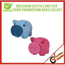 Promotion Vinyl PVC Pig Shape Coin Bank