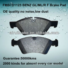D1123 OE QUALITY disco de freno de disco de metal bajo para BENZ ML350