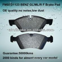 D1123 OE QUALITY plaquette de frein à disque basse en métal pour BENZ ML350