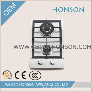 Best Price Stainless Steel Two Burners Gas Cooker Gas Hobs