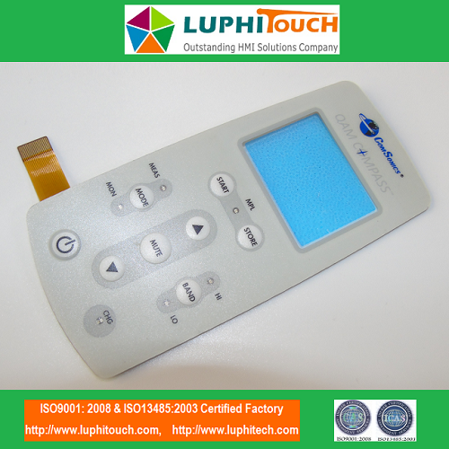 Round Embossing Tactile Buttons FPC Circuit Membrane Switch