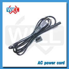 High quality Japan 3 pin power cord for electric grill with PSE UL